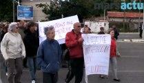 Les habitants des 13e et 14e arrondissements manifestent contre les Roms