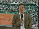 Insolite à Roland Garros : le show de Roddick - Archive vidéo INA