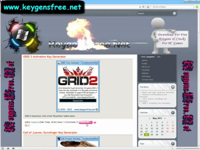 GRID 2 Game Serial Keys - Vidéo dailymotion
