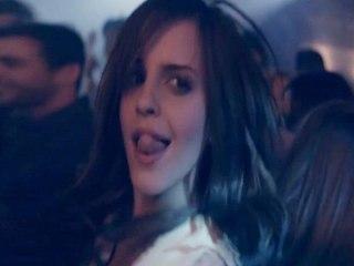 Emma Watson shows pole dance moves