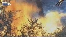 Δύσκολη νύχτα απο φωτιές σε Πελοπόννησο - Χανιά
