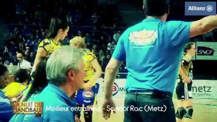 Nuit du Handball 2013 - Sandor Rac élu meilleur entraîneur