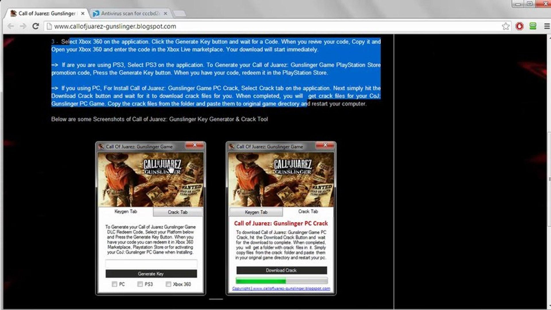 How to get the Call of Juarez: Gunslinger Full Game For Free