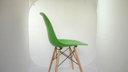 Eames DSW Vert pomme Editiondesign.fr