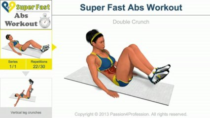 Super Fast Abs Workout - Level 1
