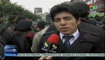 Estudiantes chilenos exigen acabar con el modelo educativo desigual