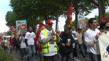 Nouvelle manifestation des salariés de Pilpa à Carcassonne :