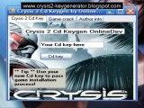 Crysis 2 Serial Key PC XBOX PS3