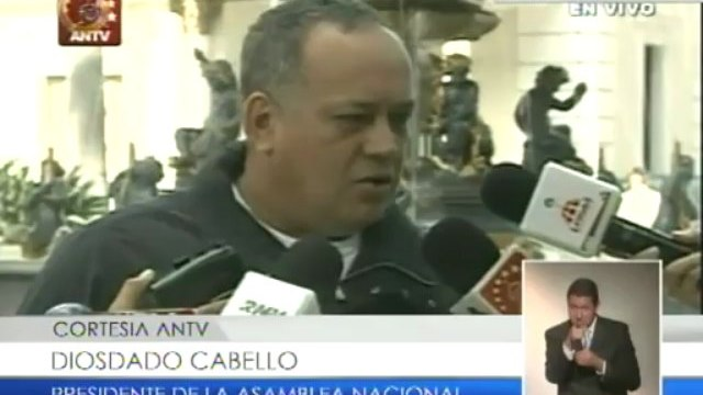 """Cabello: Santos """"le está poniendo una bomba"""" a las buenas relaciones con Venezuela al reunirse con Capriles"""