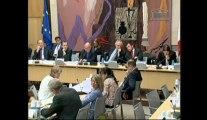 Commission des affaires économiques : Table ronde sur la transition énergétique avec M. Thierry Wahl,  (Débat national sur la transition énergétique), M. Bernard Bigot (CEA) et M. Bruno Rebelle (Transitions)