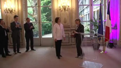 Discours remise -  Légion d'Honneur - Sylvianne Villaudière