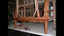 reparer fauteuil chaise rotin osier vintage chaise longue lit yvelines