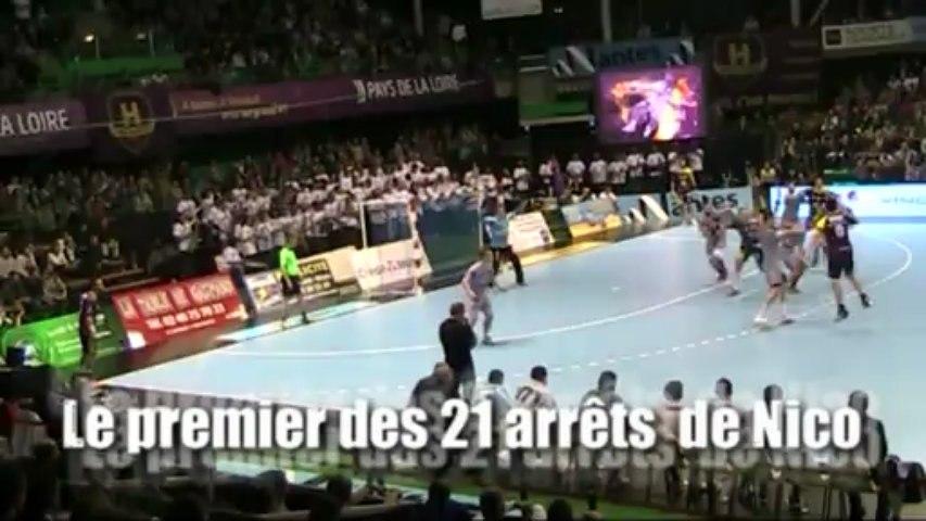 Les coulisses du match HBC Nantes / Cesson-Rennes