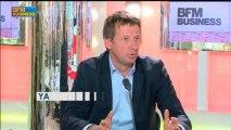 Yannick Jadot, député européen Europe-Écologie - Les Verts (EELV), Le Grand Journal - 29 mai 1/4