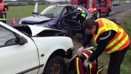 Accident de la circulation à Landos