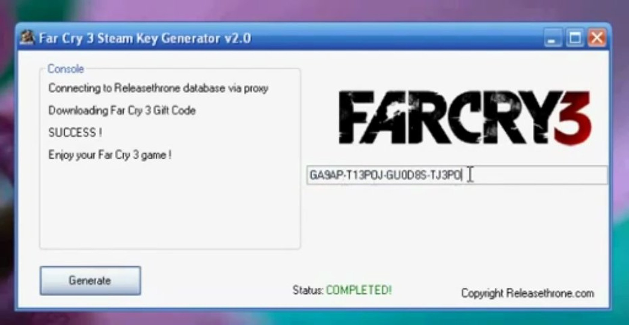 [DOWNLOAD] Far Cry 3 Steam Key Generator