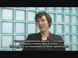 Benedict Cumberbatch interview Sherlock - BBC One (Rus Sub)