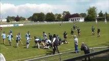 MLSGP - Suresnes 1ere mi-temps Rugby Minimes 1ère année 1/2 finale Ile-de-France