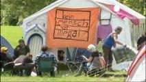 """Comienza el asedio al BCE del movimiento """"Blockupy""""..."""