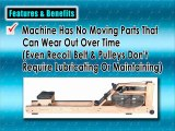 Best Rowing Machine Reviews - WaterRower Natural Rowing Machine in Ash Wood with S4 Monitor
