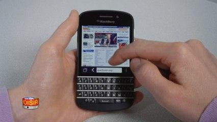 Blackberry Q10 - Prise en main