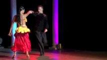 Candice Pascal et Gabin Giband show Paso LATIN DANCE TOUR