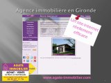 UNE AGENCE IMMOBILIERE EN GIRONDE? AGATE IMMOBILIER specialiste du sud gironde