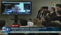 Inicia campaña solidaria en EE.UU. por los 5 cubanos presos