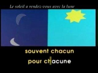 Le soleil a rendez-vous avec la lune