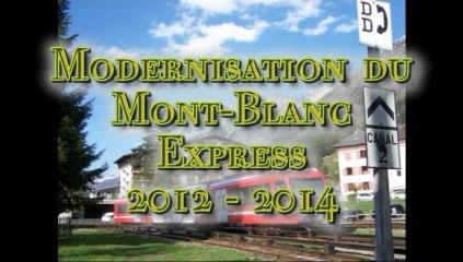 Modernisation du MBE résumé 2012 et début 2013