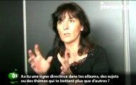 Cécile (Cécile Brosseau) en interview pour planetebd.com