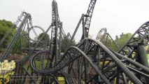 World's first 14 loop rollercoaster opens at Alton Towers