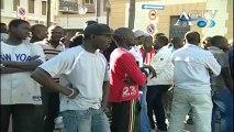 la polizia ha aperto un'indagine dopo la rivolta di ieri da parte degli extracomunitari news agtv