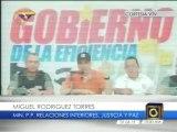 Rodríguez Torres: Van 103 homicidas capturados desde el inicio de Plan Patria Segura