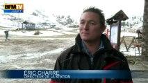 Météo: dans les Pyrénées, des skieurs bravent le froid de juin - 02/06