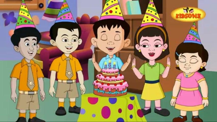 Happy Birthday - Nursery Rhyme - For Kids