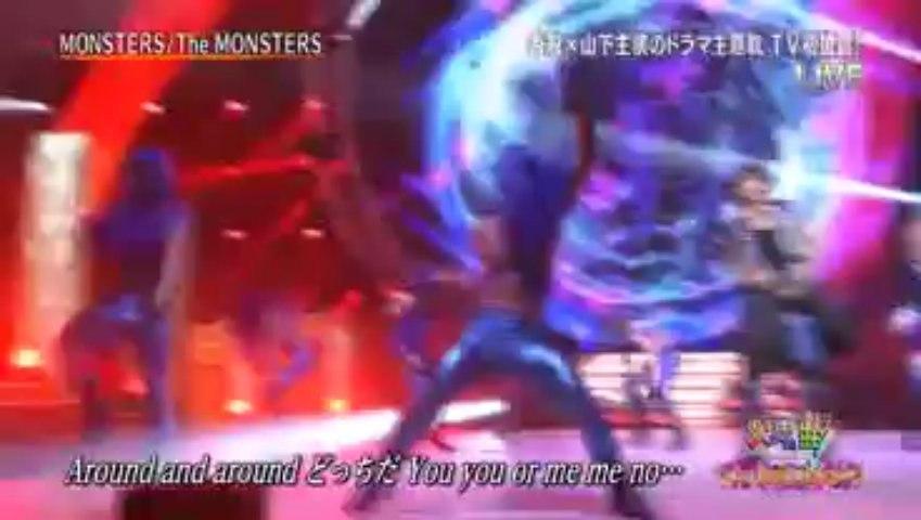 The Monsters (YamaPi Ft. Katori Shingo)  - Monsters LIVE