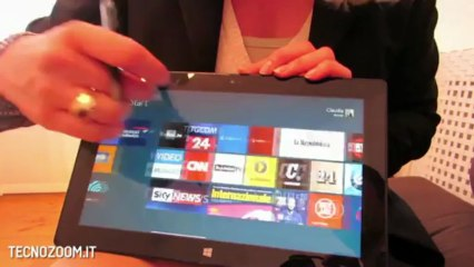 Microsoft Surface Pro anteprima italiana