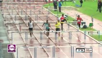 Finale 110m haies Meeting Forbach 2013