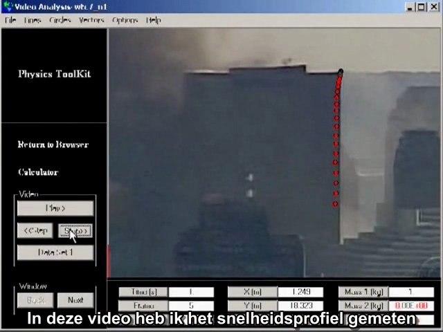 David Chandler 3 -- WTC 7 Freefall -- Dutch subs