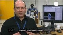 Contrôler un robot par le pouvoir de la pensée / euronews, hi-tech