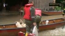 Inondations : des milliers de foyers évacués