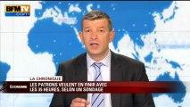 Chronique éco de Nicolas Doze: les patrons veulent en finir avec les 35 heures - 04/06