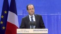 """Discours lors de l'inauguration du porte-conteneurs """"Jules Verne"""" à Marseille"""