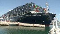 Marseille: Hollande inaugure le MuCEM et un porte-conteneurs