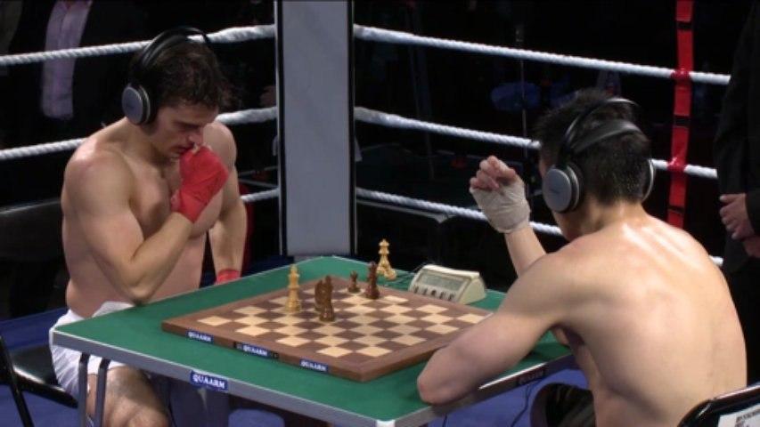Chessboxing at the Royal Albert Hall - Bryan Woon vs. Sean Mooney
