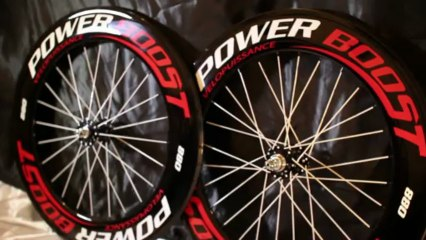 Roues carbone Velopuissance POWERBOOST