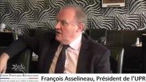 François Asselineau, législative partielle à Villeneuve sur Lot