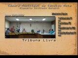 Data: 03/06/2013 - Sessão da Câmara de Cândido Mota - Inscritos na Tribuna Livre .