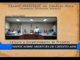 Data: 03/06/2013 - Sessão da Câmara de Cândido Mota - Leitura e encaminhamentos de projetos